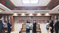 Tổng Kiểm toán Hồ Đức Phớc tiếp Tổng Kiểm toán Nhà nước Malaysia