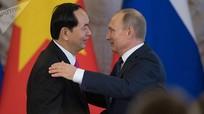 Chủ tịch Trần Đại Quang từ trần: Niềm thương tiếc ở nước Nga