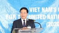 Việt Nam cam kết nỗ lực bảo vệ thường dân, xử lý xung đột nếu trúng cử vào Hội đồng Bảo an