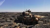 Quân đội Syria đánh bật phiến quân khỏi thành trì núi lửa