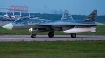 Công bố video cuộc diễn tập của 4 máy bay chiến đấu Su-57 thế hệ mới nhất
