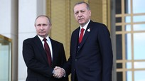 Putin gặp Erdogan thay cho lịch trình gặp mặt Trump