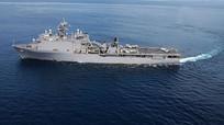 Quân nhân Nga giám sát hành động của tàu chiến Hải quân Mỹ ở Biển Đen