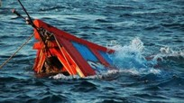 Tàu cá Khánh Hòa mất tích được phát hiện chìm trên biển Vũng Tàu