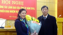 Bắc Giang: Tân Phó Bí thư Thường trực Tỉnh ủy là nữ