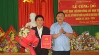 Trao quyết định 2 Phó Bí thư Đảng ủy xã tại huyện Tân Kỳ