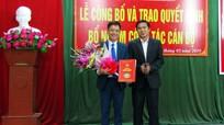 Huyện Tương Dương và Quỳ Châu trao quyết định bổ nhiệm, điều động cán bộ