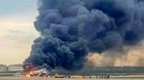 Cháy máy bay ở Nga, 41 người tử vong không có nạn nhân người Việt