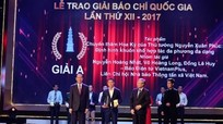 106 tác phẩm xuất sắc sẽ được vinh danh tại Lễ trao Giải Báo chí quốc gia