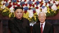Nhà lãnh đạo Triều Tiên Kim Jong Un chúc mừng Quốc khánh Việt Nam