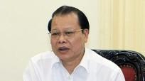 Quyết định thi hành kỷ luật nguyên Phó thủ tướng Vũ Văn Ninh bằng hình thức cảnh cáo