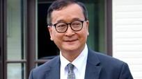 Thủ lĩnh đảng Cứu nguy Dân tộc Campuchia Sam Rainsy bị bắt ở Malaysia