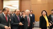 Tổng Bí thư, Chủ tịch nước Nguyễn Phú Trọng dự và chỉ đạo tại Hội nghị trực tuyến Chính phủ