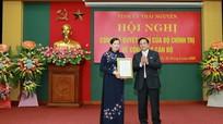 Trưởng ban Dân nguyện Quốc hội giữ chức Bí thư Tỉnh ủy Thái Nguyên