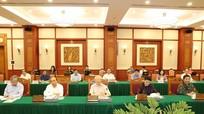 Tập thể Bộ Chính trị làm việc với Ban Thường vụ Quân ủy Trung ương