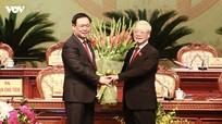 Tổng Bí thư, Chủ tịch nước Nguyễn Phú Trọng dự, chỉ đạo Đại hội Đảng bộ Hà Nội lần thứ XVII