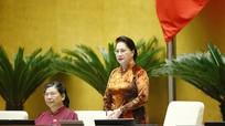 Chủ tịch Quốc hội Nguyễn Thị Kim Ngân lần đầu tiên trả lời chất vấn tại nghị trường