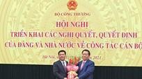 Bộ trưởng Bộ Công Thương Nguyễn Hồng Diên chính thức nhận nhiệm vụ