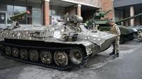 Nga chế tạo tổ hợp robot tấn công hạng nặng Shturm để phục vụ chiến đấu trong thành phố