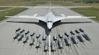 Bộ Quốc phòng Nga công bố video tiếp nhiên liệu trên không cho oanh tạc cơ tên lửa chiến lược Tu-160
