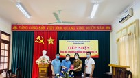 Ban Tổ chức Tỉnh ủy hỗ trợ thành phố Vinh phòng, chống dịch Covid-19