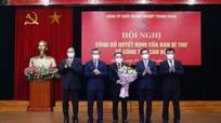 Đảng ủy Khối Doanh nghiệp Trung ương có tân Phó Bí thư