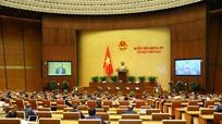 Quốc hội tiếp tục thảo luận các dự án Luật và báo cáo công tác phòng, chống tội phạm
