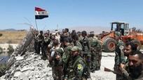 Quân đội Syria chọc thủng phòng tuyến, dồn ép IS đến sát biên giới