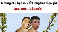 """Thú vị loạt ảnh chế """"song Đức"""" hạ gục Philippines ở AFF Cup"""
