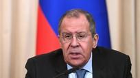 Ngoại trưởng Nga nổi nóng khi bị hỏi về việc ngăn Mỹ can thiệp vào Venezuela