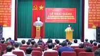 Nghệ An: 60 học viên dự lớp bồi dưỡng cán bộ quy hoạch Ủy viên BCH Đảng bộ tỉnh