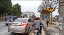 TP Vinh: Ùn tắc giao thông do không nhường đường cho phương tiện được phép rẽ phải