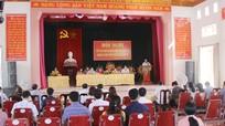 Cử tri huyện Quỳnh Lưu phản ánh nhiều bất cập khi thực hiện sáp nhập xóm