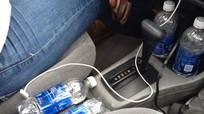 Nguy cơ cháy khi để chai nước lọc trong xe dưới trời nắng