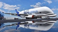 Siêu máy bay vận tải hình cá voi trắng của Airbus