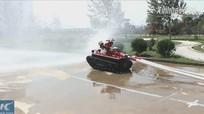 Robot chữa cháy hiệu quả gấp 10 lần lính cứu hỏa