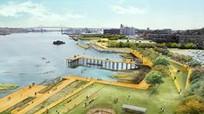 Thành phố Mỹ xây công viên 'hút nước' chống ngập lụt
