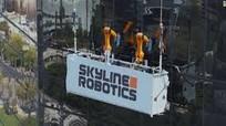 Robot lau nhà chọc trời cao hàng trăm mét thay công nhân