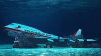 Máy bay Boeing 747 được nhấn chìm để xây công viên dưới nước