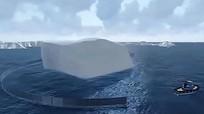 Triệu phú Arab tính kéo núi băng trôi Nam Cực về làm nước uống