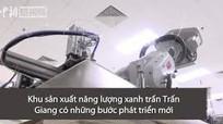 Robot sản xuất tấm pin mặt trời chỉ mất 25 giây