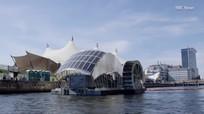 Cỗ máy dùng năng lượng mặt trời thu gom rác trên sông ở Mỹ