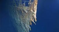 Tàu Titanic đang tan vào đại dương