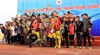 Nghệ An phấn đấu xếp thứ 13 toàn đoàn, vào chung kết bóng đá tại Đại hội TDTT toàn quốc