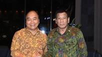 Thủ tướng Nguyễn Xuân Phúc và Tổng thống Philippines ủng hộ tự do hàng hải ở Biển Đông