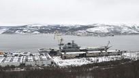 Sau vụ chìm ụ nổi, Nga tốn thêm một triệu đô để sửa tàu sân bay