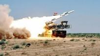 Syria tuyên bố đánh chặn tên lửa bay qua thủ đô Damascus