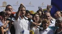 Nóng: Lãnh đạo phe đối lập Venezuela tuyên bố mình là tổng thống