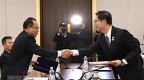 Quan chức liên Triều họp đánh giá tình hình bán đảo Triều Tiên