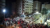 Sập chung cư ở Thổ Nhĩ Kỳ, 17 người chết